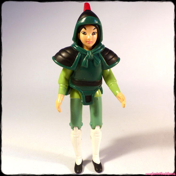 Mulan + Armour - Action Figure (McDonald's 1998)