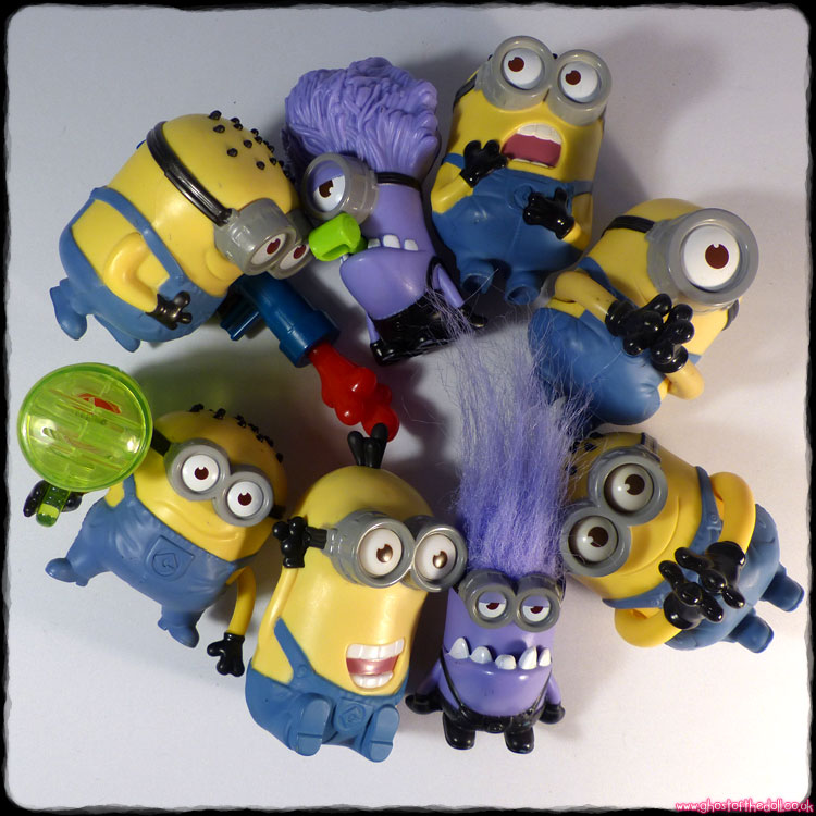Despicable Me 2: 8 Minions Bundle (McDonald's 2013)