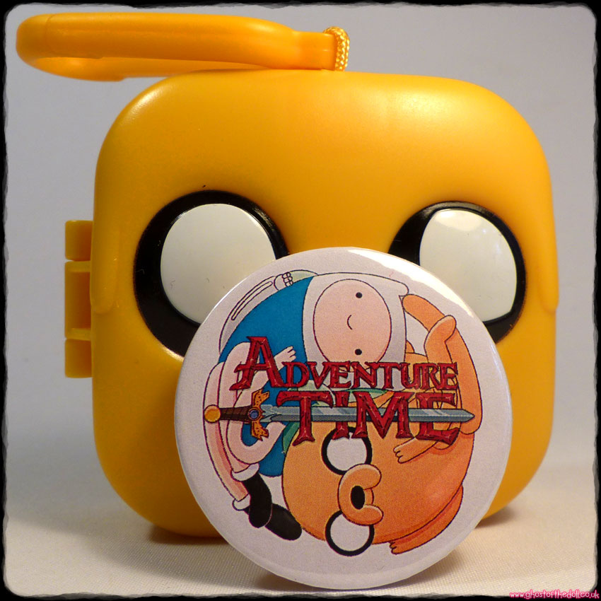 ADVENTURE TIME: Bundle of 5 Clip Toys + FREE BADGE! (McDonalds 2017) MIP - Click Image to Close