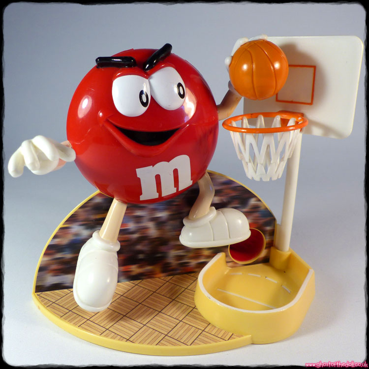 M&Ms: Basketball Candy Dispenser (Mars 1999)