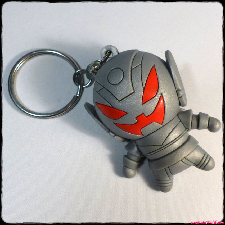 "Marvel ""ULTRON"" ~ 3D Silver Collectors Keyring Series 3"