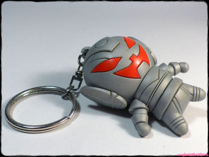 "Marvel ULTRON 3D Silver Collectors KEYRING Series 3 Avengers 2.5"" Figure - Click Image to Close"