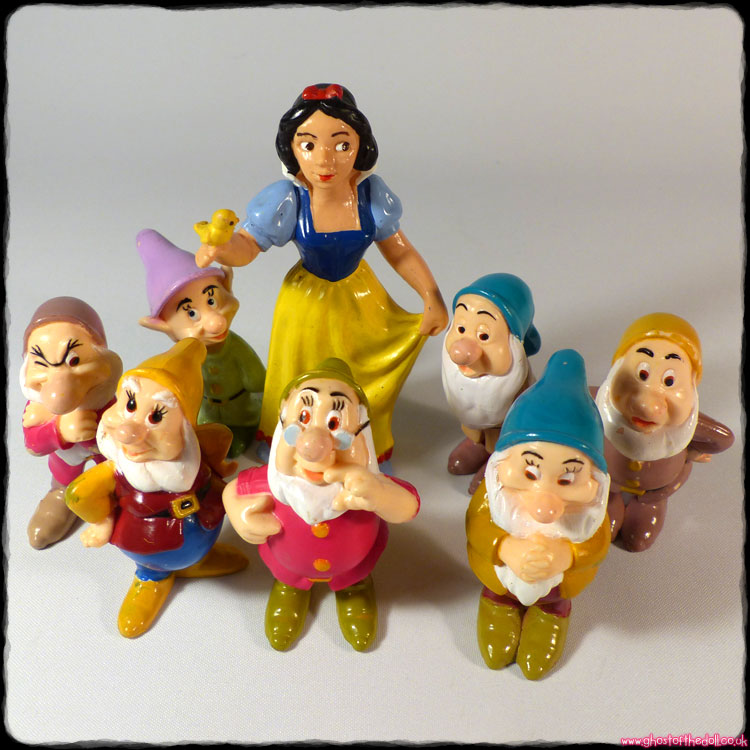 Disney: Snow White & The Seven Dwarfs (Bullyland & Mattel 1993)