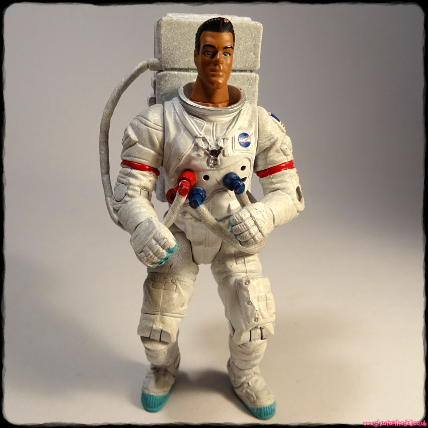 "SPACE VOYAGERS: AstroSquad Commander Wolf Perry ~ 5"" Action Figure (2001)"