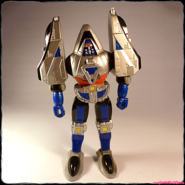 "Power Rangers: Time Force ~ ""Megazord Blue Mode"" (Bandai 2000)"