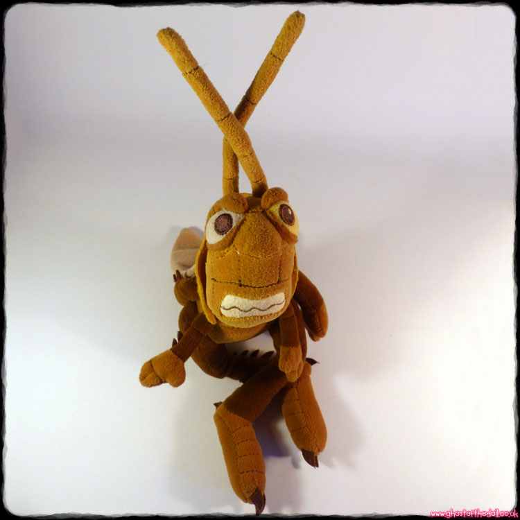 "Disney Store: Bug's Life ""Hopper"" Plush (1999)"