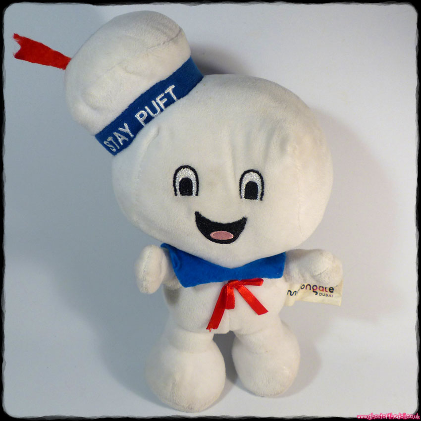 "GHOSTBUSTERS ""Stay Puft"" Plush 10"" Marshmallow Man (Gosh!/Motiongate 2016)"