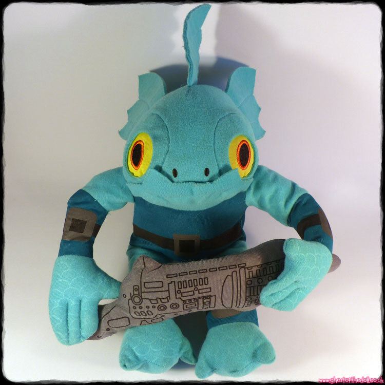 "Skylanders: Swap Force ""Gill Grunt"" Plush (PMS 2013)"