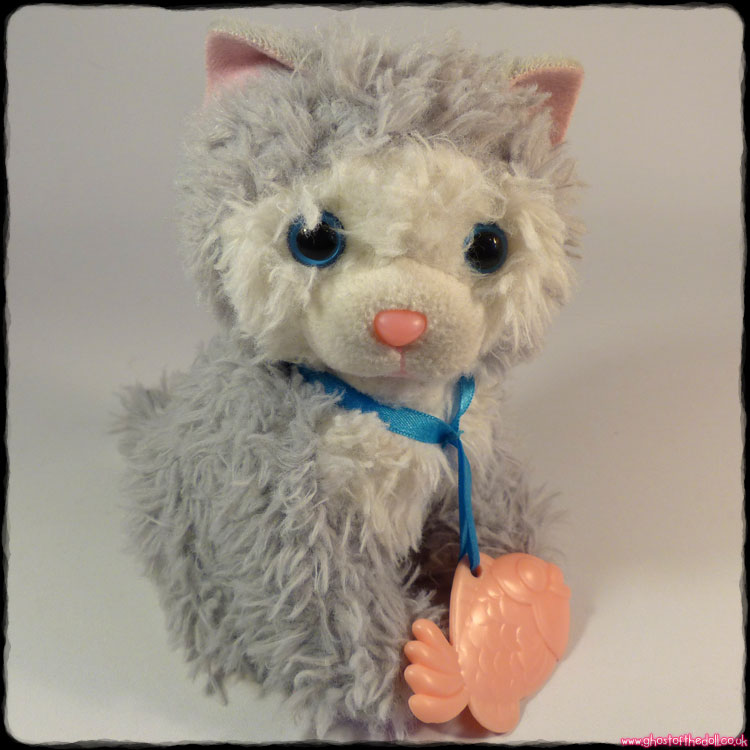 AniMagic: Feed & Care Kitten ~ Plush Grey Interactive (Vivid 2014)
