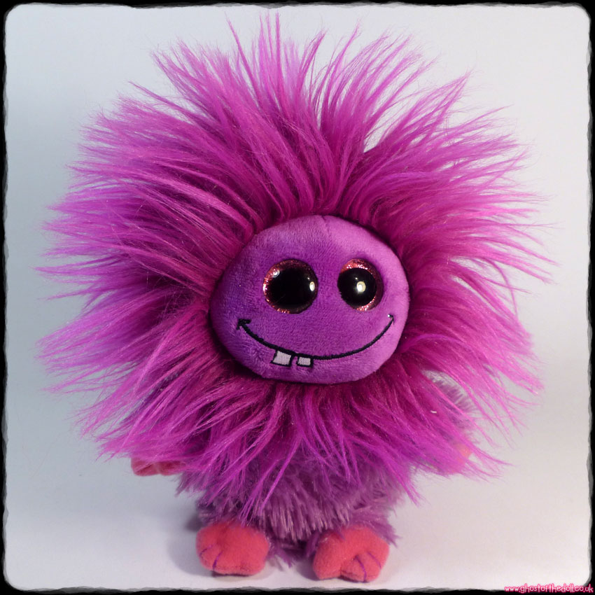 "FRIZZYS: Lola ~ Plush 6"" Purple Monster (Ty 2015)"