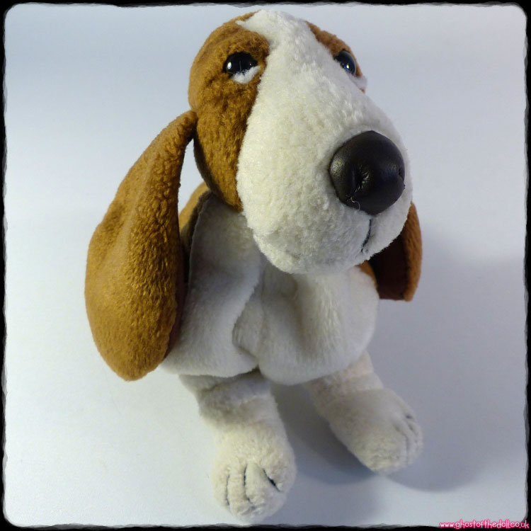 Hush Puppies - Plush Beanie Basset Hound (bef.1998 Applause)