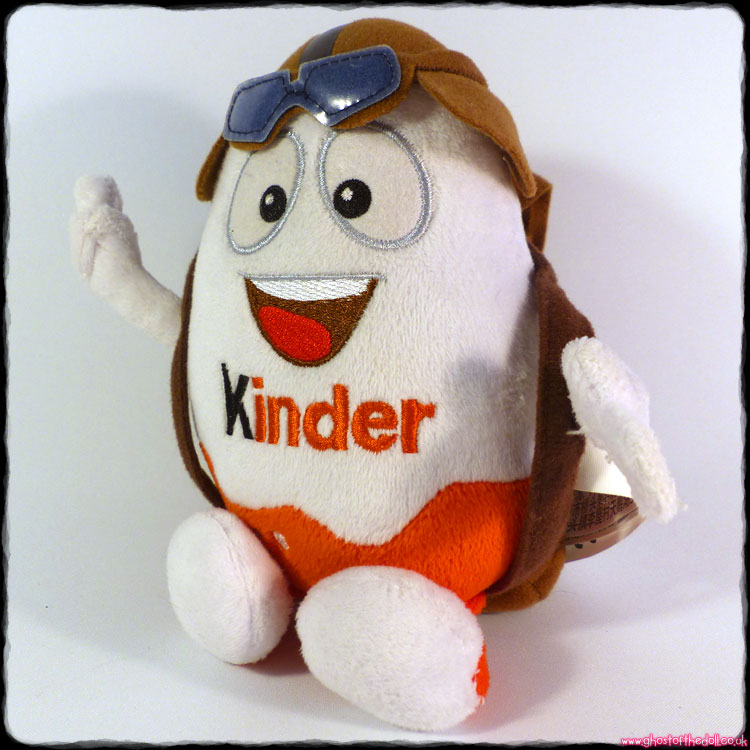 Kinder Surprise Limited Edition Aviator Plush Egg (Ferrero 2014)