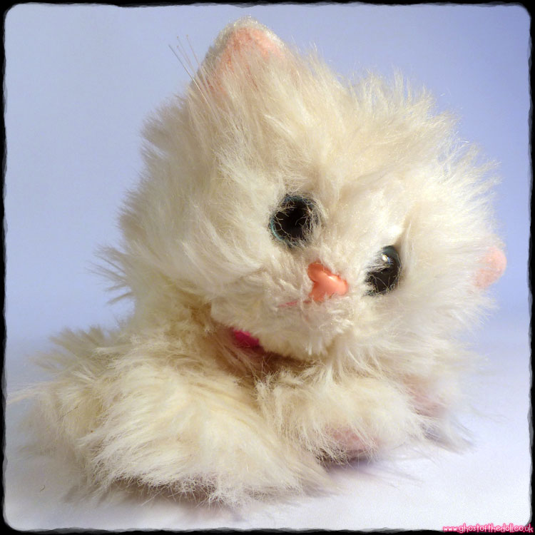 "Kitty Kitty Kittens ""Snowball"" - Plush White Cat (DSI 2000)"