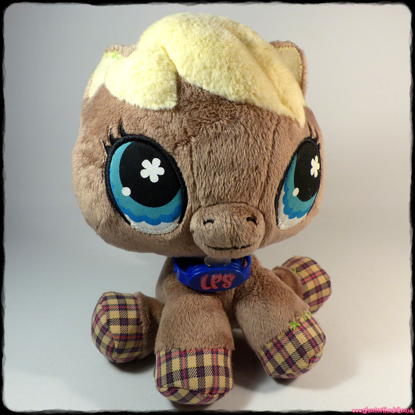 LITTLEST PET SHOP: Pony Horse Plush (Hasbro 2007)