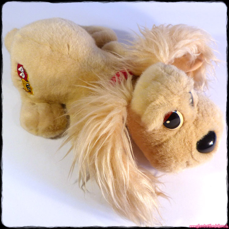"Pound Puppies ""Pick-Me Pups"" - Barking Tan Spaniel (Mattel 2004)"