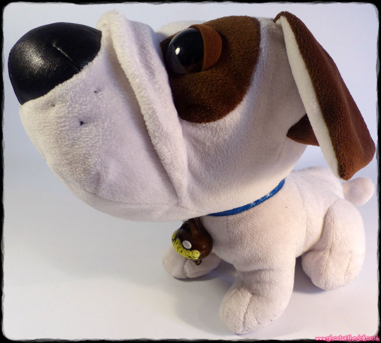 "Snubbies ""Spike"" Large Plush Dog & Mini (Toy Quest c.2003)"