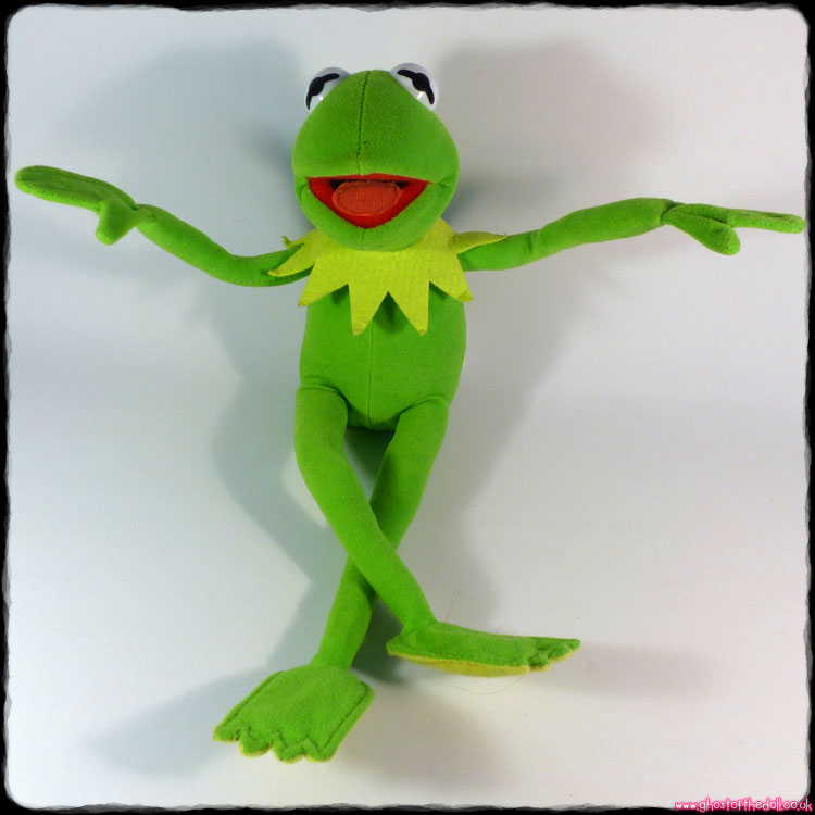 Muppets: Kermit The Frog - Poseable Plush (Nanco PMS c.2000)