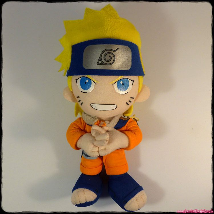 Naruto ~ Plush Manga Anime (Great Eastern Entertainment 2002)