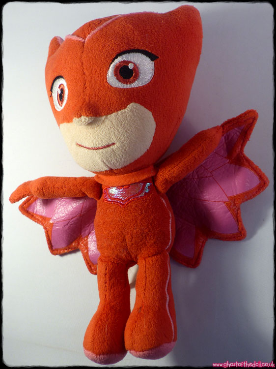 "PJ Masks ""Owlette"" Plush (Frog Box/Just Play aft.2015) - Click Image to Close"
