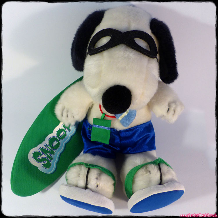 Peanuts: Snoopy Surf - Large Plush (c.2000's)