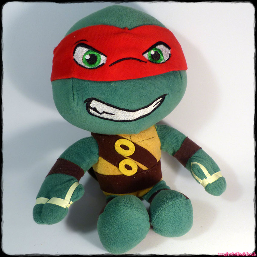 "TEENAGE MUTANT NINJA TURTLES ""Raphael"" Plush 12"" (Play By Play 2014)"