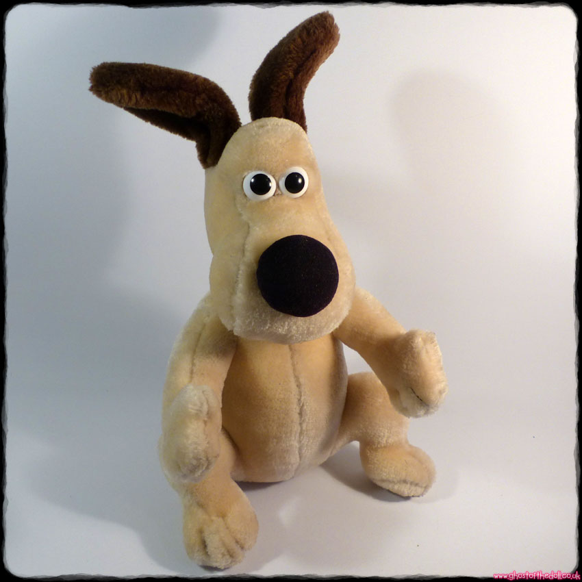 Wallace & Gromit: Standing Gromit ~ Plush Dog (Aardman/BBC/Born To Play 1989)
