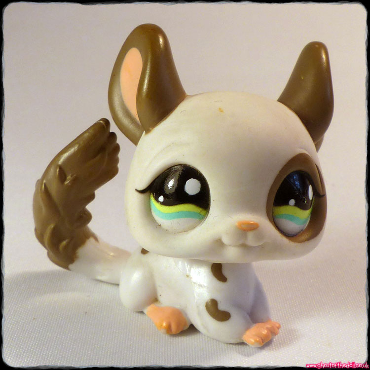 Littlest Pet Shop - Dog Chinchilla #1018
