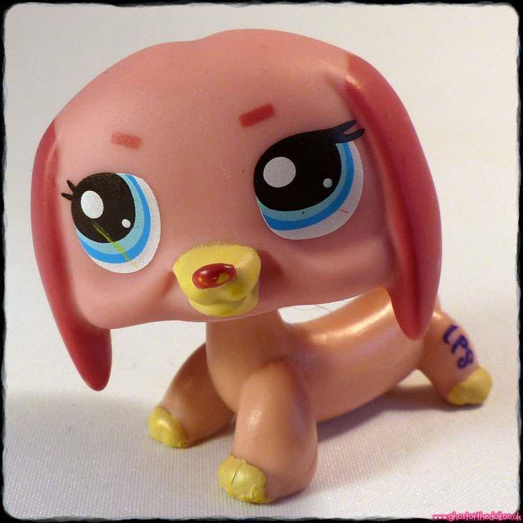 Littlest Pet Shop - Dog Dachshund #1306