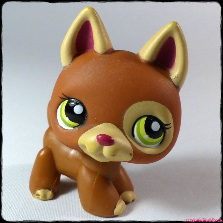 Littlest Pet Shop - Dog German Shepherd #1362