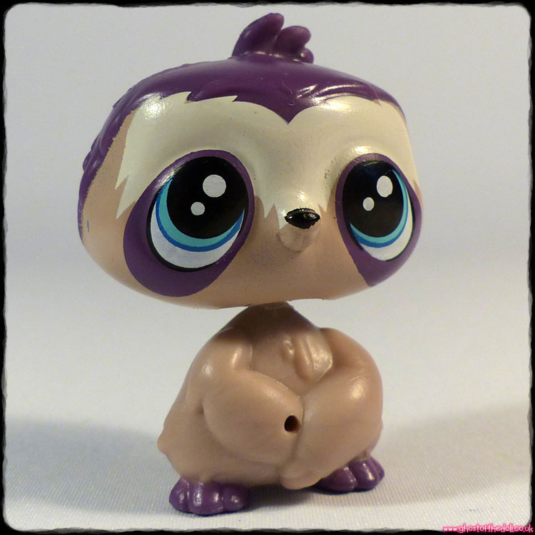 "Littlest Pet Shop - Sloth ""Dozer Dryden"" #3807 RARE!"
