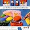 McCormick-Shilling Egg Dye ~ Easter Adverts [1958-1963]