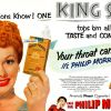 Philip Morris & I Love Lucy ~ Cigarette Adverts [1951-1954]