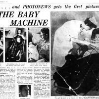 The Baby Machine ~ Newspaper Article [1959]