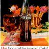 "Coca Cola ~ Soda Adverts [1961-1962] ""Hot food calls for ice-cold Coke!"""