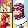 Columbia Minerva Knitting Leaflets ~ Scarves, Hats & Mittens [1967-1977]