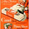 Christmas Smokes ~ Cigarette Adverts [1940's-1950's]