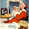 Whitman's Chocolates ~ Christmas Adverts [1941-1951]