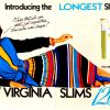 Virginia Slims [1985] Cigarette Adverts ~ 120's