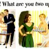 White Rock ~ Soft Drinks Adverts [1946-1948] Illustrations by John Holmgren