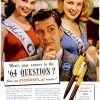 Eversharp Pens ~ Stationary Adverts [1943-1946]