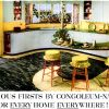 Congoleum-Nairn ~ Floor & Wall Covering Adverts [1948-1949]