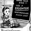 "Westinghouse ~ Lighting Adverts [1941-1942] ""Mazda Lamps"" Illustrations"