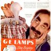 "General Electric ~ Lighting Adverts [1946-1947] ""G.E Lamps"""