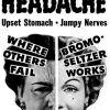 Bromo-Seltzer ~ Antacid Adverts [1950-1951]