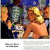 Webster [1946-1948] Cigar Adverts ~ Edwin Georgi