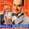 Chesterfield [1945-1950] Cigarette Adverts ~ ABC