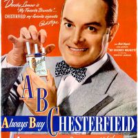 "Chesterfield ""ABC"" ~ Cigarette Adverts [1945-1950]"