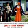 Singer Sewing Centres ~ Craft Adverts [1947-1948]