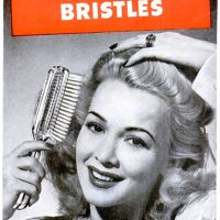 Du Pont Hair Brushes ~ Hair Care Adverts [1946-1947]