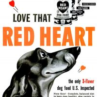 "Morrell ""Red Heart"" ~ Dog Food Adverts [1950-1951] Illustrated"